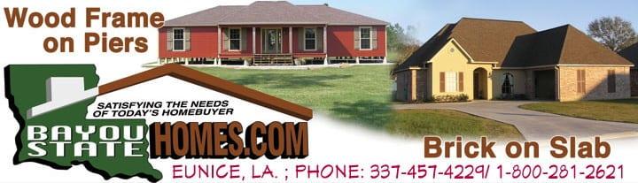 Gallery Bayou State Homes